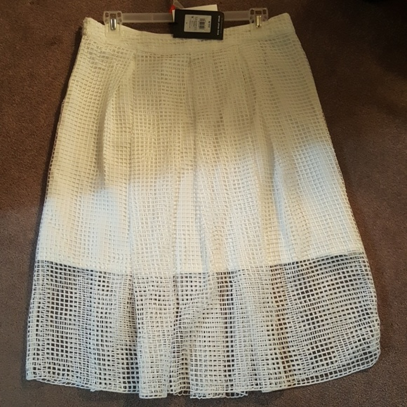 Who What Wear Dresses & Skirts - *NEW* Birdcage Sheer Cutout Midi Skirt -Size 16